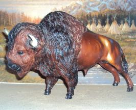 Breyer Buffalo is in your collection!