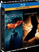 The Dark Knight / Batman Begins (Double Pack) [Region Free]