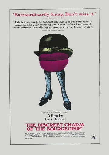 The Discreet Charm of the Bourgeoisie (1972)