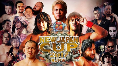 NJPW New Japan Cup 2017 - First Round, Day 1