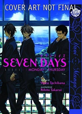 Seven Days:  Monday - Thursday (Yaoi)