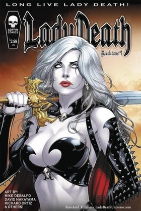 Lady Death: Revelations - Illustrated