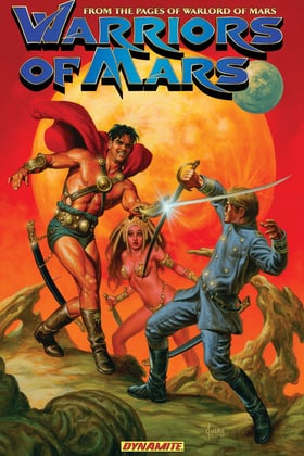 Warriors of Mars TPB