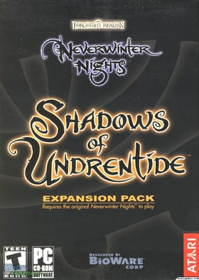 Neverwinter Nights: Shadows of Undrentide - Expansion Pack