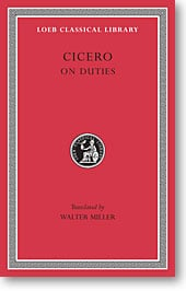 Cicero, XXI: On Duties (Loeb Classical Library)