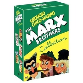 The Marx Brothers Collection (A Night at The Opera/A Day at The Races/A Night in Casablanca/Room Ser