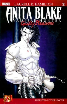 Anita Blake Vampire Hunter - Guilty Pleasures #2 (Marvel Comic Book 2007)