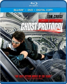 Mission Impossible: Ghost Protocol  (Blu-ray + DVD + Digital Copy)