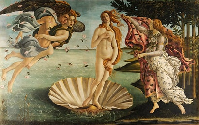 The Birth of Venus (Botticelli) 1486