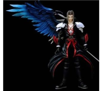 Kingdom Hearts Sephiroth Coliseum Version Play Arts Action Figure Import Japan