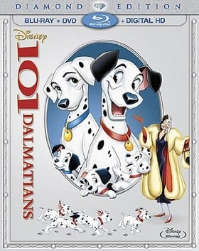 101 Dalmatians: Diamond Edition (2-Disc Blu-ray + DVD + Digital HD)