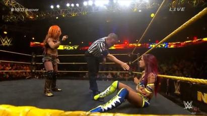 Becky Lynch vs. Sasha Banks (NXT, TakeOver: Unstoppable)