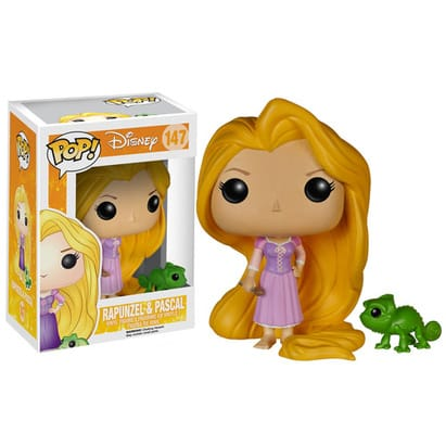 Tangled Pop! Vinyl: Rapunzel and Pascal