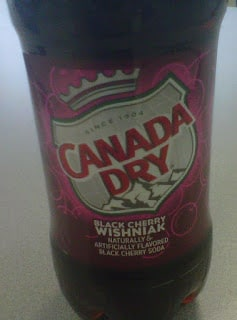 Canada Dry Black Cherry Wishniak