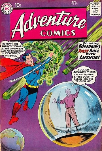How Luthor Met Superboy