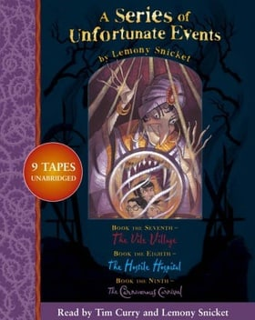 A Series of Unfortunate Events - Lemony Snicket Gift Pack: 7-9: