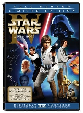 Star Wars: Episode IV - A New Hope (Two-Disc Fullscreen Enhanced and Original Theatrical Versions)