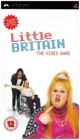 Little Britain The Video Game (PSP)