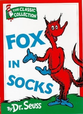 Fox in Socks (Dr.Seuss Classic Collection)