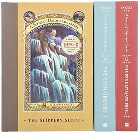 The Gloom Looms: A Box of Unfortunate Events, Books 10-12 (The Slippery Slope; The Grim Grotto; The Penultimate Peril)