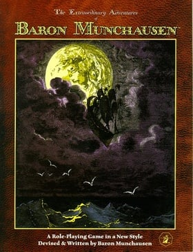The Extraordinary Adventures of Baron Munchausen: A Role-playing Game in a New Style