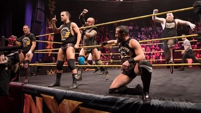 Alexander Wolfe, Eric Young & Killian Dain vs. Adam Cole, Bobby Fish & Kyle O'Riley (2018/02/07)