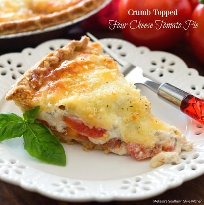 Cheese and Tomato Pie