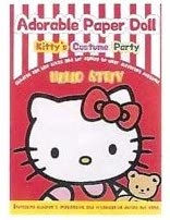 Adorable Paper Doll Book: Red Kitty