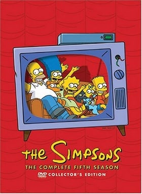 The Simpsons - The Complete Fifth Season collector's ed