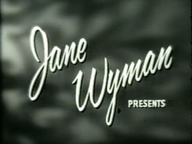 Jane Wyman Presents The Fireside Theatre