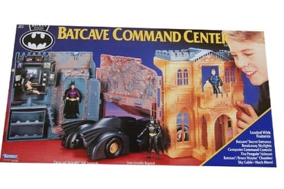 Batman Returns Batcave Command Center Kenner toys 1991
