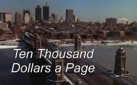 Banacek: Ten Thousand Dollars a Page (1973)